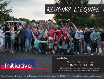 illustration - Rejoins l'équipe Initiative Grand Annecy !