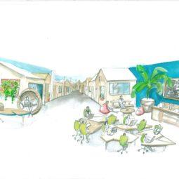illustration - Inauguration de La Jardinerie coworking