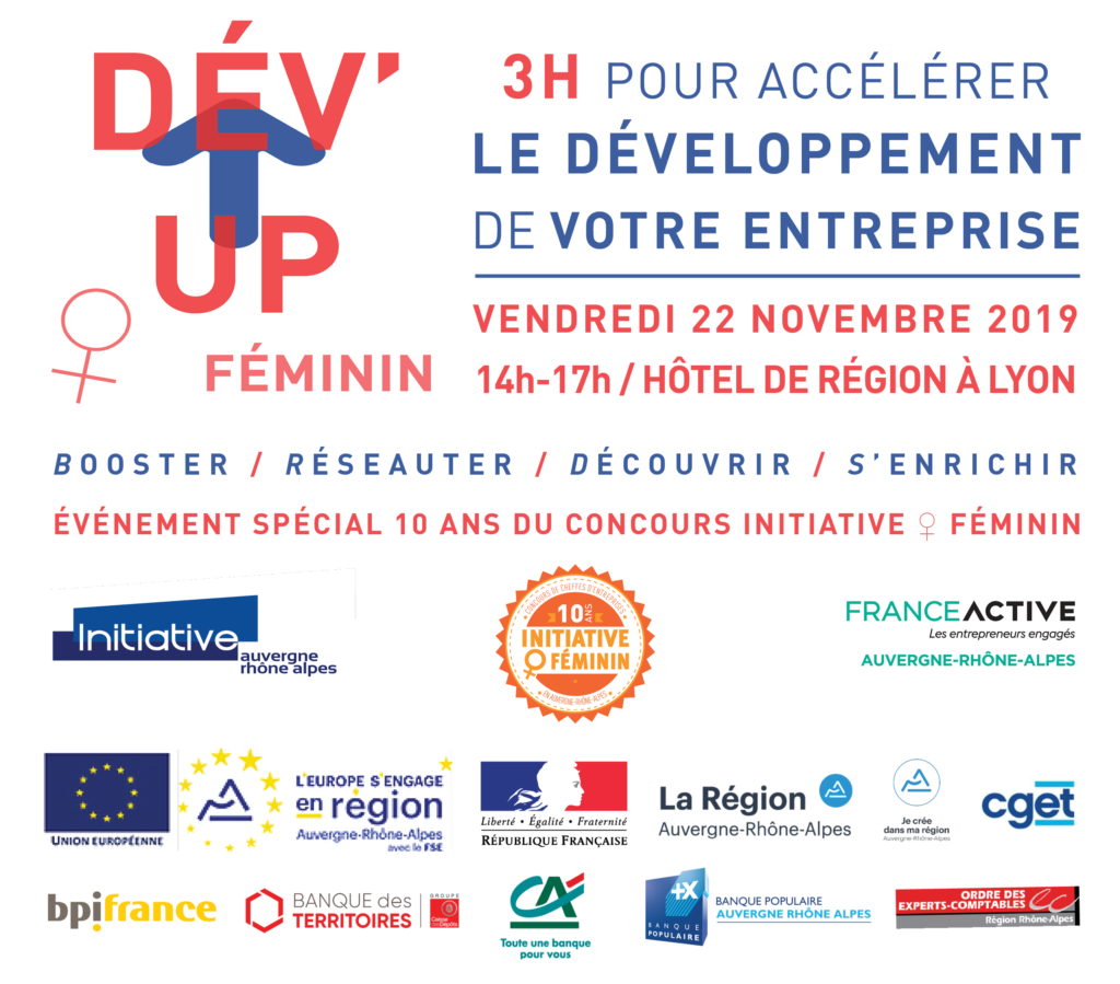 Visuel - DEV UP O FEMININ - 22-11-19 - LYON