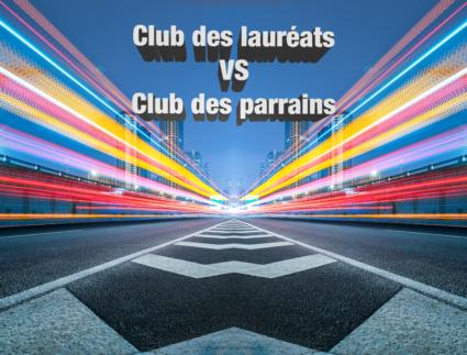 illustration - Club des lauréats Vs Club des parrains